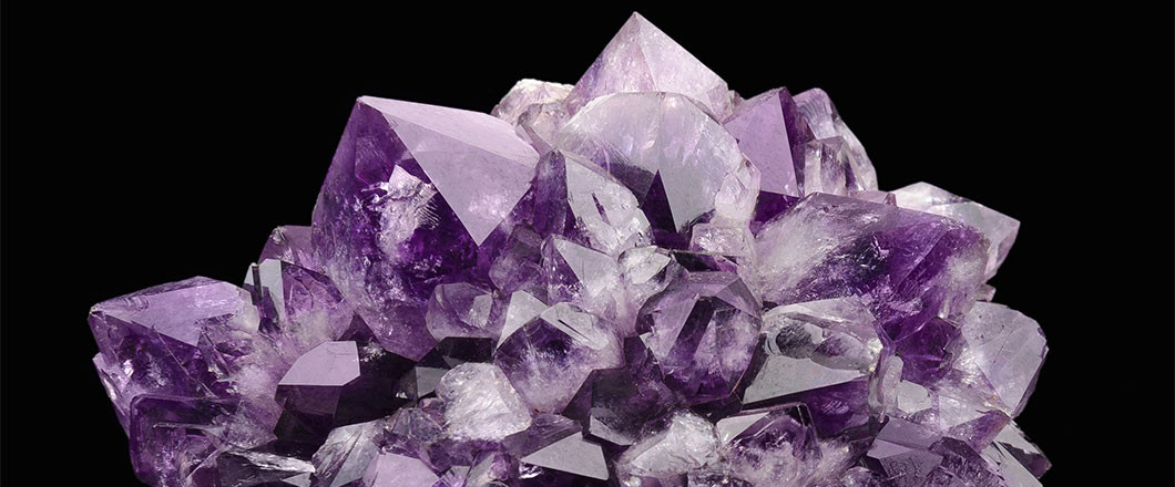 The Birthstone of February is Amethyst.